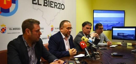 Presentación de la nueva web con la oferta de suelo industrial del Bierzo / CCB