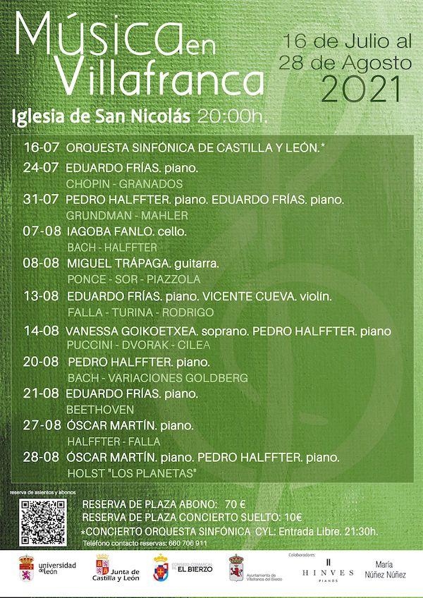 Música @ Villafranca del Bierzo