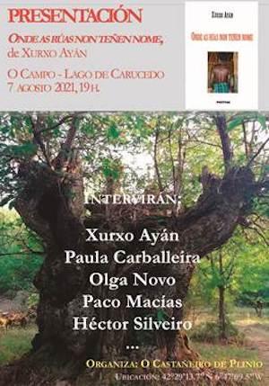 Presentación libro @ Lago de Carucedo