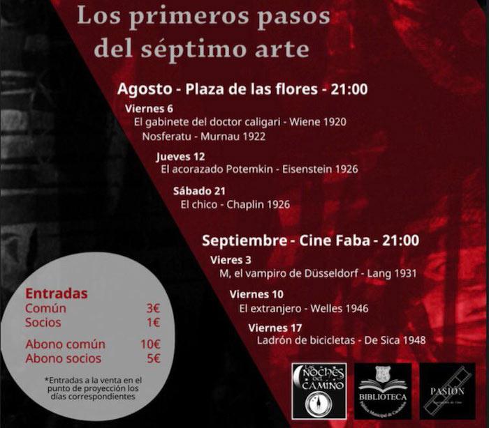 Cine de verano @ Cacabelos